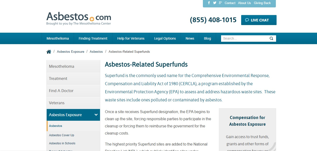 Asbestos Superfund Preview