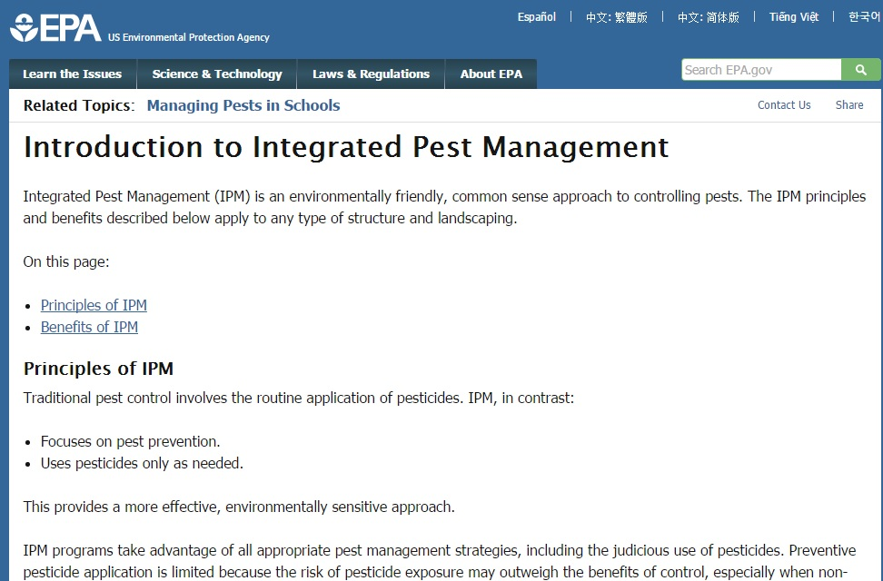 Intro to Integrated Pest Management (EPA) Preview