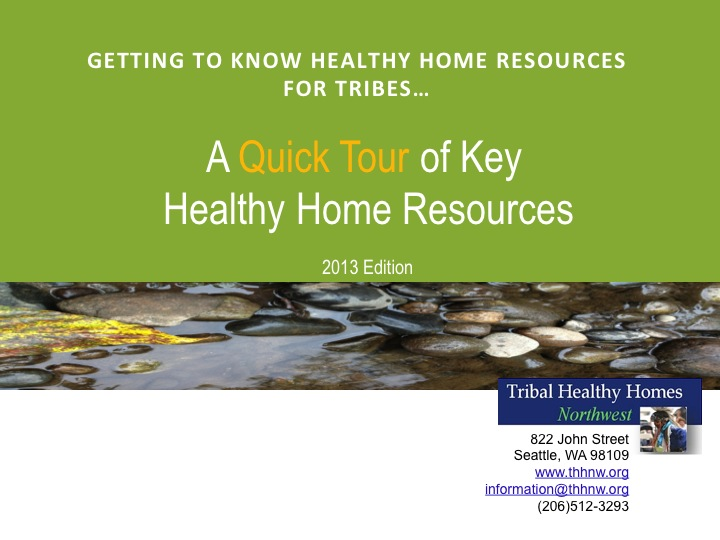 Healthy Homes Resource Guide Preview