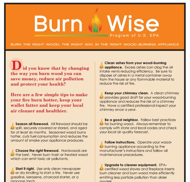 BurnWise Tip Sheet Preview