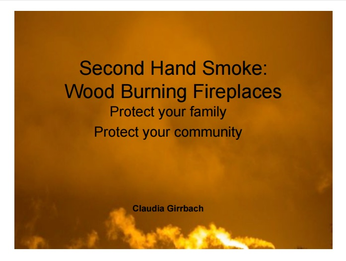 Second Hand Smoke from Wood Burning Preview