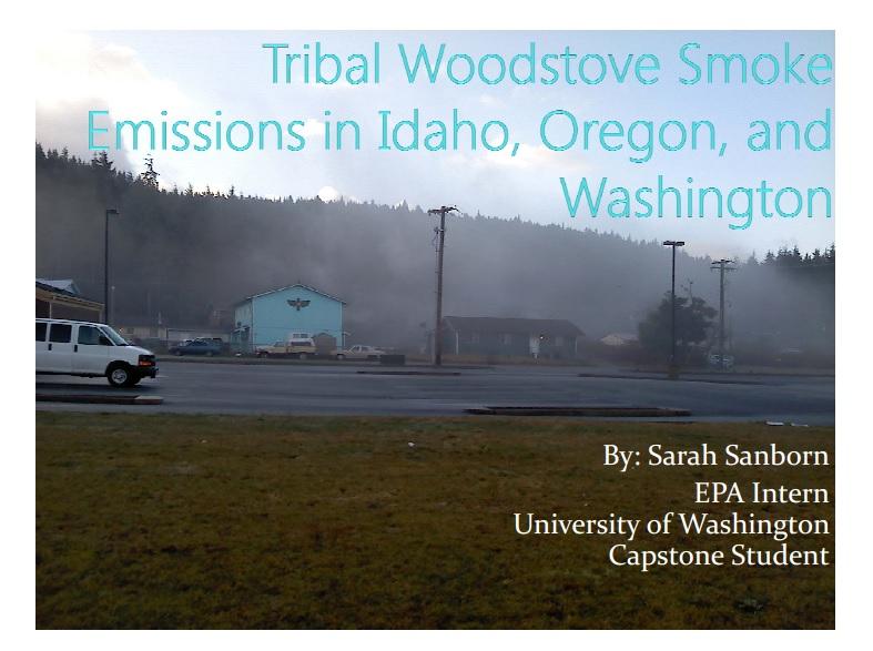 Tribal Woodstove Smoke Emissions in Idaho, Oregon, and Washington Preview