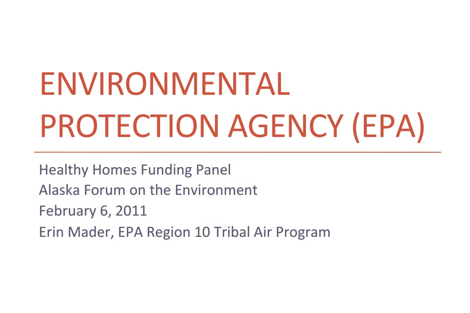 EPA Healthy Homes Funding Opportunities Preview