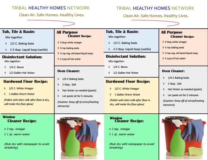 THHN Green Cleaning Recipes Preview