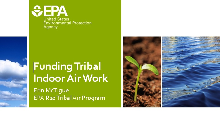 Funding Tribal Indoor Air Work Preview