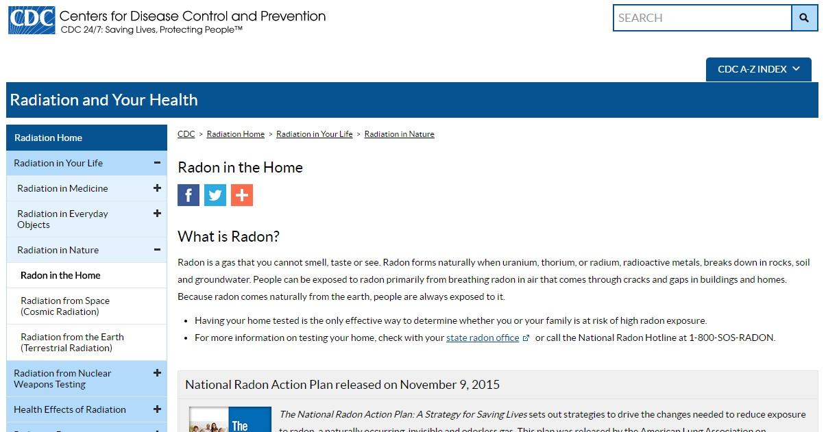 Radon as a Gas Preview