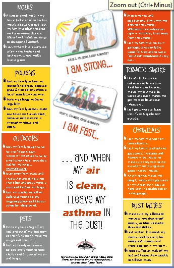 Asthma Youth Poster Preview