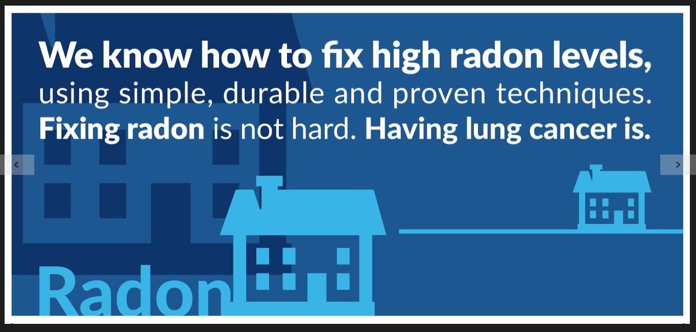 Radon Fact Sheet #3 Preview